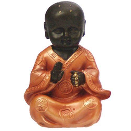 statuette statut enfant moine bouddha achat vente. Black Bedroom Furniture Sets. Home Design Ideas