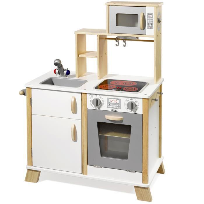 howa cuisine en bois pour enfant avec table de cuisson led 4820 achat vente dinette. Black Bedroom Furniture Sets. Home Design Ideas