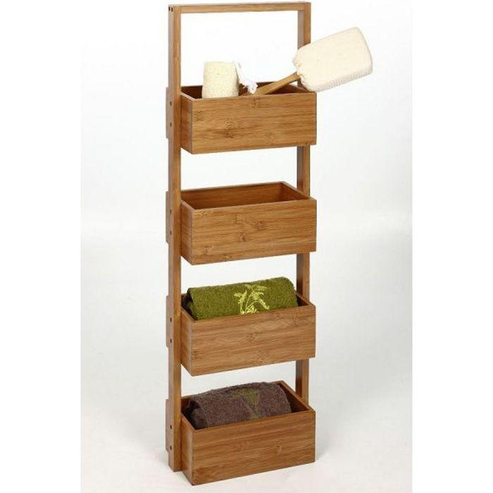 Etagere bambou achat vente etagere bambou pas cher les soldes sur cdiscount cdiscount - Meuble case pas cher ...