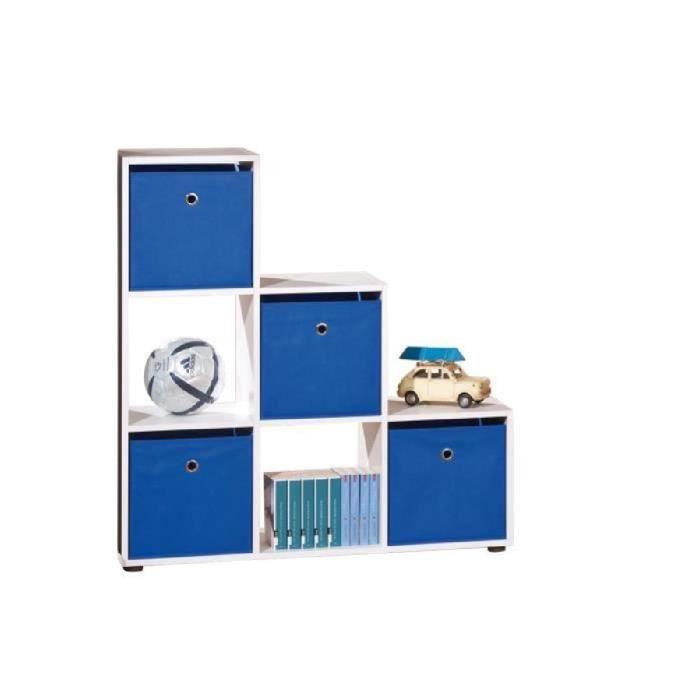 s parateur caboto blanc 6 compartiments achat vente meuble tag re s parateur caboto blanc 6. Black Bedroom Furniture Sets. Home Design Ideas
