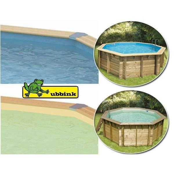 Liner bleu pour piscine ronde ubbink 4 10 x 1 20 m Liner 4 50 x 1 20