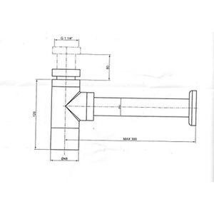 siphon lavabo achat vente siphon lavabo pas cher les soldes sur cdiscount cdiscount. Black Bedroom Furniture Sets. Home Design Ideas