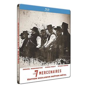 BLU-RAY FILM LES 7 MERCENAIRES EDITION LIMITE Édition 2 Blu-ray