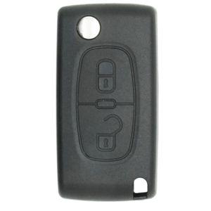 BOITIER - COQUE DE CLÉ Coque de clé + lame compatible Peugeot-Citroën 2 b