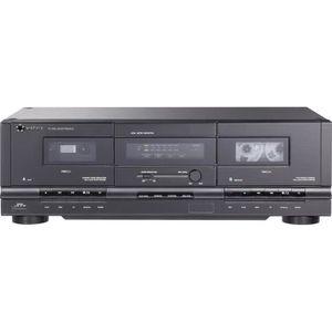 RADIO CD CASSETTE Lecteur de cassettes renkforce TP-1000 noir