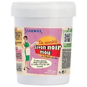 SAVON - SYNDETS Savon noir Starwax - Pâte - 1 kg