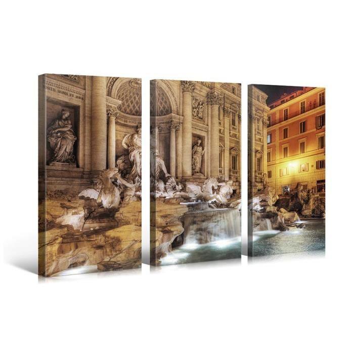 Tableau moderne imprim 130x80 monument achat vente tableau toile c - Tableau moderne discount ...