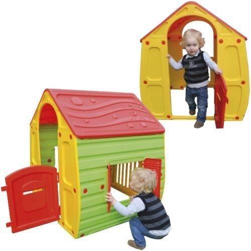 Maison cabane en plastique pour enfant jeu jouet e achat vente maisonnett - Cabane en plastique pour enfant ...