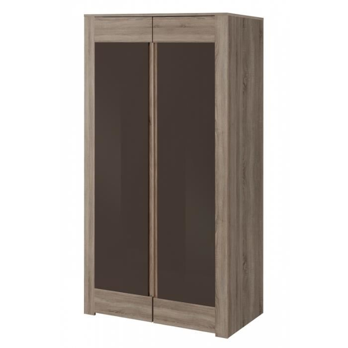 armoire penderie chene achat vente armoire penderie chene pas cher cdiscount. Black Bedroom Furniture Sets. Home Design Ideas