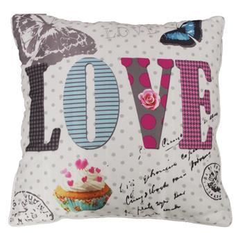 Coussin 40x40 d co girly love achat vente coussin cdiscount - Coussin anti transpirant ...