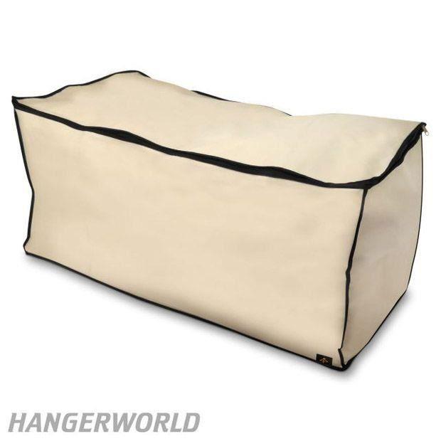housse de rangement antimite xxl pour linge de lit couette oreiller duvet achat vente. Black Bedroom Furniture Sets. Home Design Ideas
