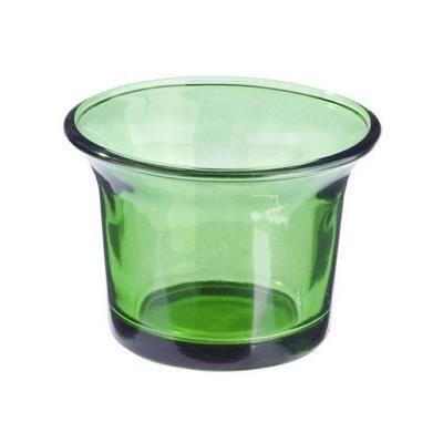 Photophore En Verre Vert Fonc Achat Vente Photophore Lanterne Cdiscount