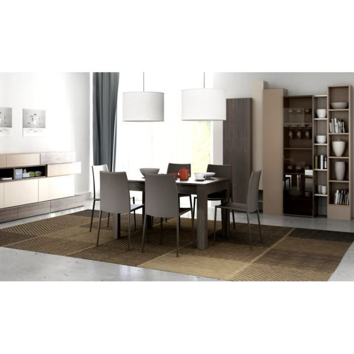 Table de salle manger design extensible hifi achat for Table de salle a manger design