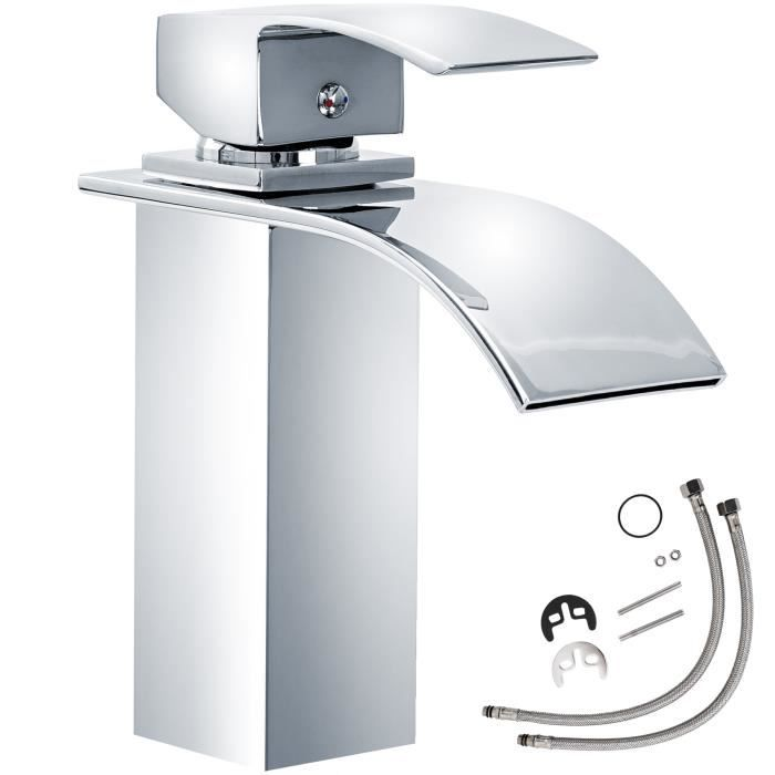 Robinet salle de bain en cascade design achat vente for Robinet salle de bain design pas cher