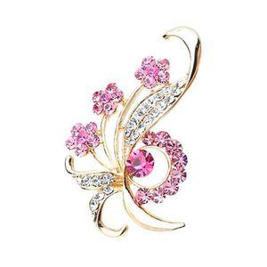 BROCHE Crystal Fashion & Diamants Broche Parti épingle à