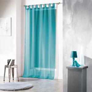 rideaux bleu turquoise achat vente rideaux bleu. Black Bedroom Furniture Sets. Home Design Ideas