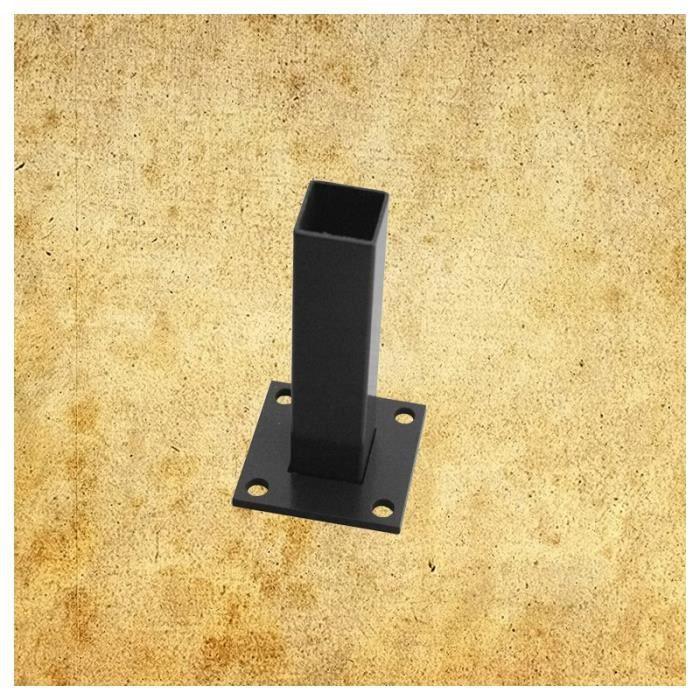 platine pour poteau pas cher. Black Bedroom Furniture Sets. Home Design Ideas