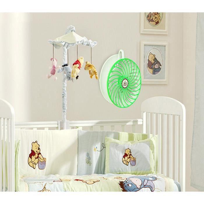 Ventilateur silencieux de tasse de caf usb pour b b for Chauffage pour chambre bebe