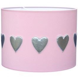 abat jour enfant rigide coeur rose achat vente abat jour enfant rigide coe tissu pvc. Black Bedroom Furniture Sets. Home Design Ideas