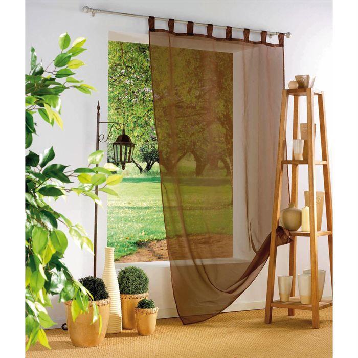 voilage rideaux avec passant store en 240 achat vente voilage rideaux avec passant store en. Black Bedroom Furniture Sets. Home Design Ideas