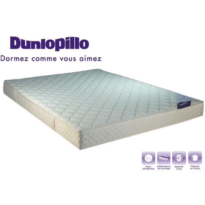 Matelas dunlopillo mousse 28kg m3 90x200 ferme achat vente matelas cdiscount - Matelas dunlopillo mousse ...