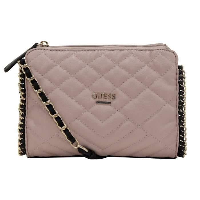 Sac Guess Rose Nouvelle Collection : Sac ? main guess lucie vg rose achat vente