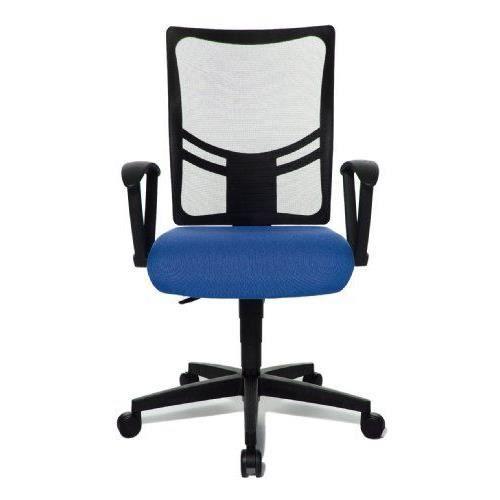 Topstar nx20rg26 chaise de bureau net point 10 achat for Chaise de bureau bleu