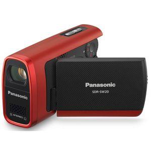 CAMÉSCOPE NUMÉRIQUE Panasonic SDR-SW20 Rouge