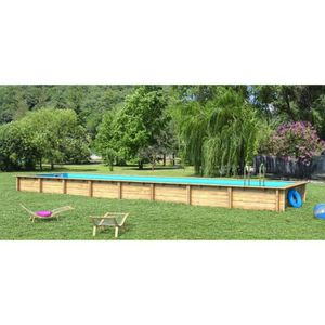 Piscine en bois hors sol hauteur 1m45 achat vente for Piscine en hauteur