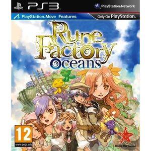 JEU PS3 RUNE FACTORY OCEANS / Jeu console PS3