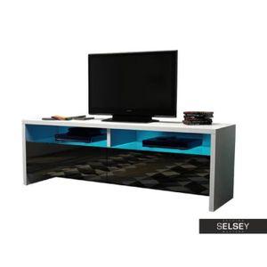 meuble tv bois achat vente meuble tv bois pas cher cdiscount. Black Bedroom Furniture Sets. Home Design Ideas