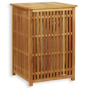 panier a linge sale bois achat vente panier a linge sale bois pas cher cdiscount. Black Bedroom Furniture Sets. Home Design Ideas