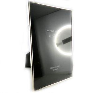 cadre photo 20 30 argent achat vente cadre photo 20 30 argent pas cher cdiscount. Black Bedroom Furniture Sets. Home Design Ideas