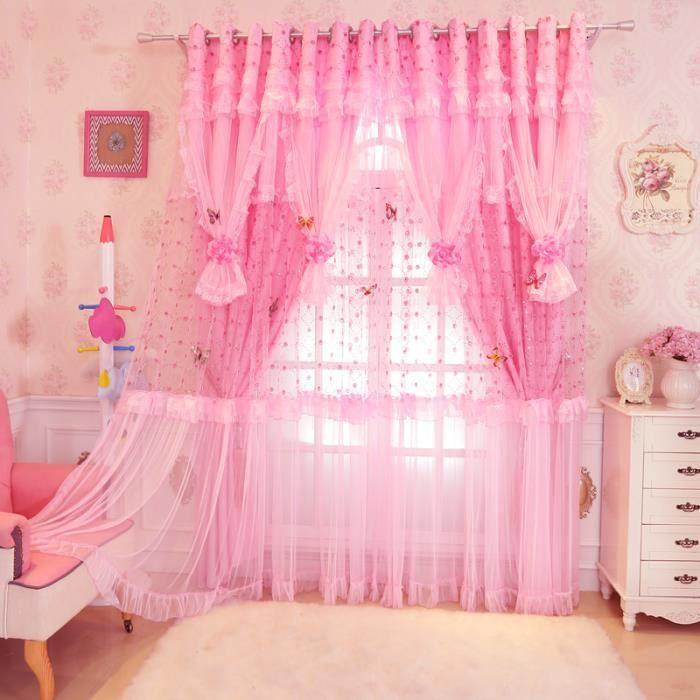attache pour rideau dentelle de jardin princesse chambre corenne a te - Decoration Chambre Princesse