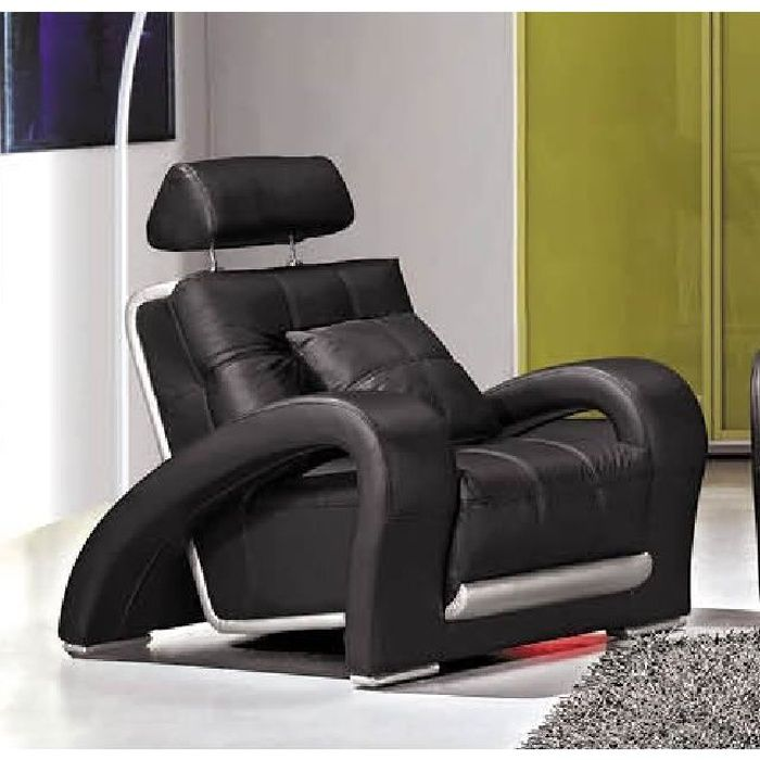 Achat fauteuil cuir