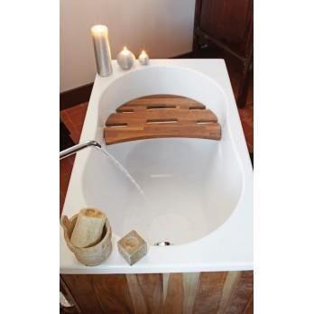 Baignoire rectangulaire 120x70cm minime sans achat for Grande baignoire pas cher