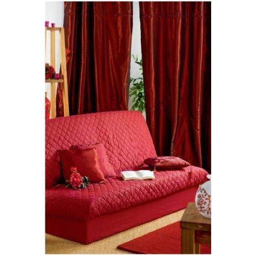 housse de clic clac matelassee unie nelson bande de socle anis achat vente housse de. Black Bedroom Furniture Sets. Home Design Ideas