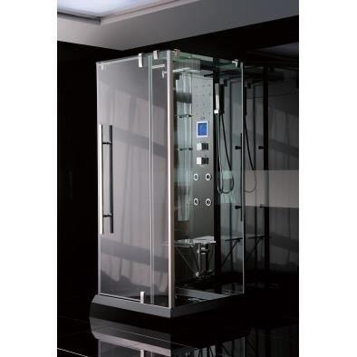 Cabine de douche teloria 100 100 220 cm achat vente cabine de douche cabi - Cabine de douche integrale 70 x 100 ...