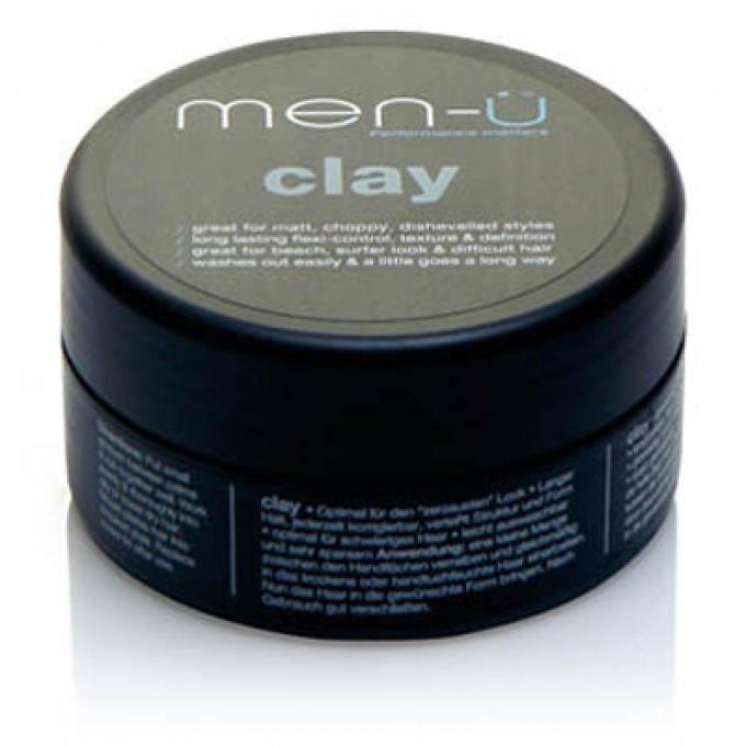 clay achat vente cire gel coiffant clay cdiscount. Black Bedroom Furniture Sets. Home Design Ideas