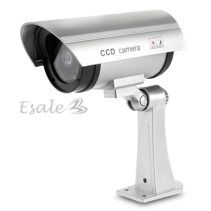 Factice fausse imitation cam ra led s curit cctv - Fausse camera de surveillance exterieur ...