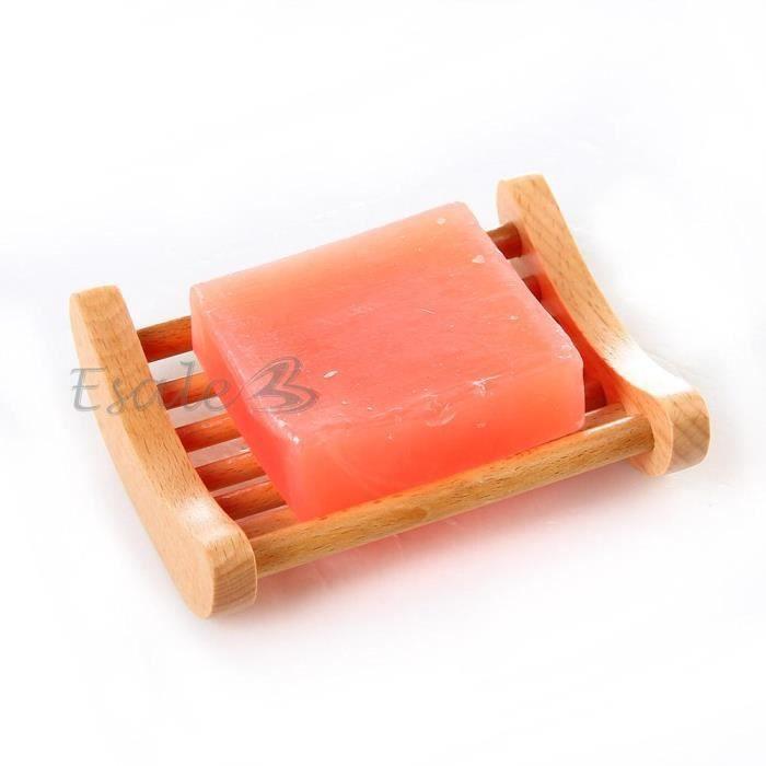 porte savon support panier savon en bois pour s achat vente distributeur de savon porte. Black Bedroom Furniture Sets. Home Design Ideas