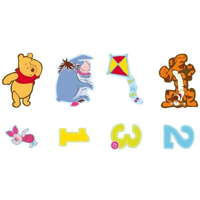 Winnie l 39 ourson mini adh sifs crearreda achat vente stickers cdiscount - Chambre winnie lourson cdiscount ...