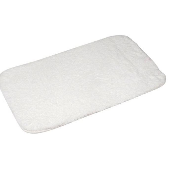 tapis cocoon coloris blanc 3cm de moelleux achat. Black Bedroom Furniture Sets. Home Design Ideas