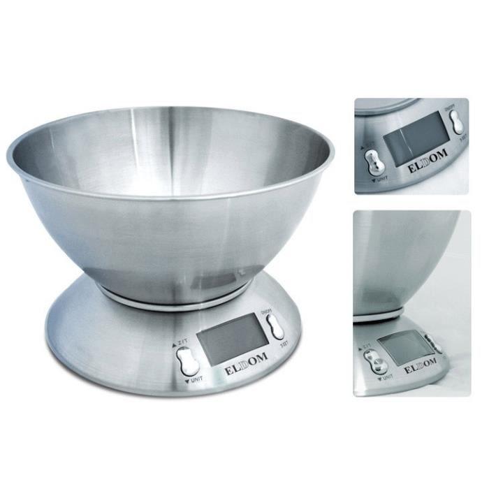 Eldom wk200s balance de cuisine et p se personn achat vente balance lectronique cdiscount - Meilleure balance cuisine ...