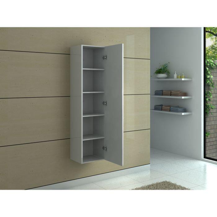colonne de rangement en bois coloris erable achat vente colonne salle de bain colonne de. Black Bedroom Furniture Sets. Home Design Ideas