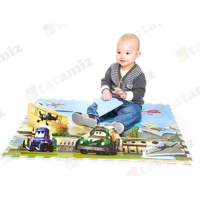 Liste de naissance  Bébé Gavroche  Mouche bébé  Tapis puzzle mousse Cars