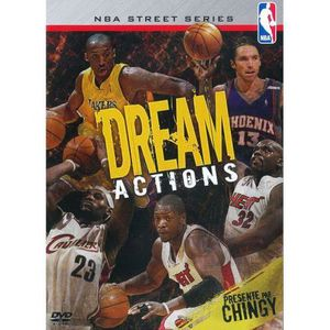 DVD DOCUMENTAIRE DVD NBA, street series dreams actions