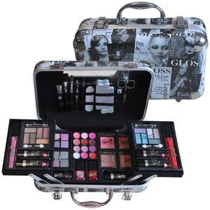 PALETTE DE MAQUILLAGE  Mallette de Maquillage - Beauty Tendance - 62 Pcs