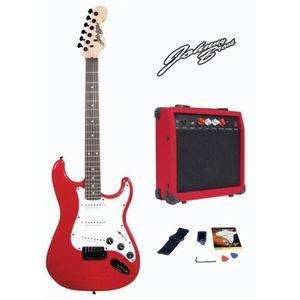 kit guitare electrique pas cher achat vente cdiscount. Black Bedroom Furniture Sets. Home Design Ideas