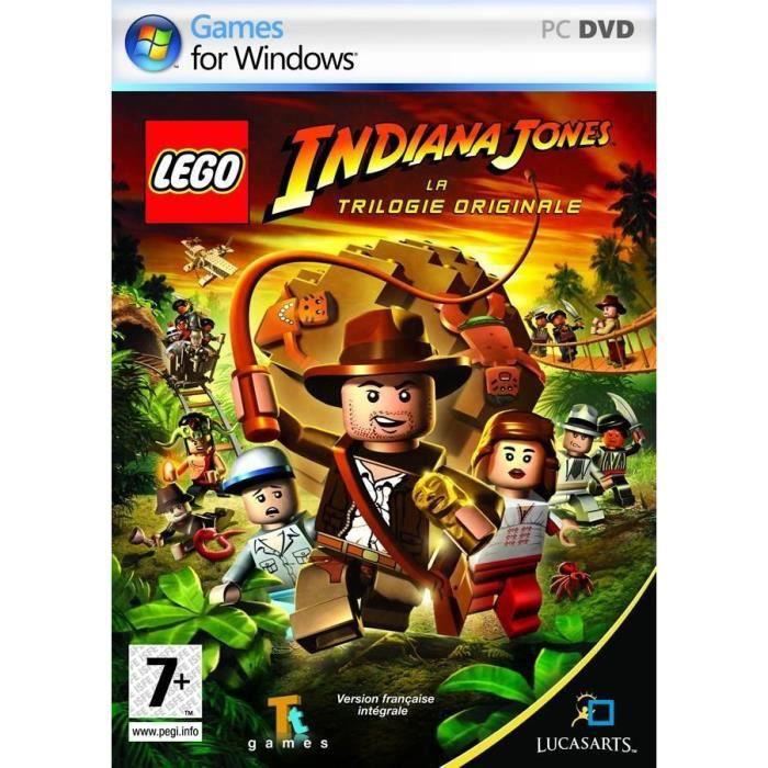 JEUX PC LEGO INDIANA JONES : La trilogie originale / JEU P